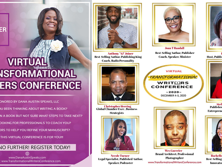 Author Stefanie Austin speaker at Virtual Transformational Writers Conference