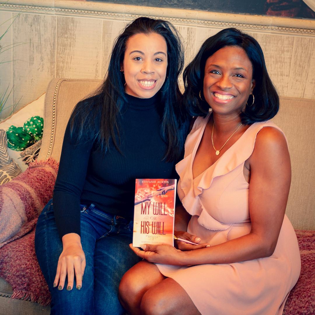 Nadine Harper meets author Stefanie Austin