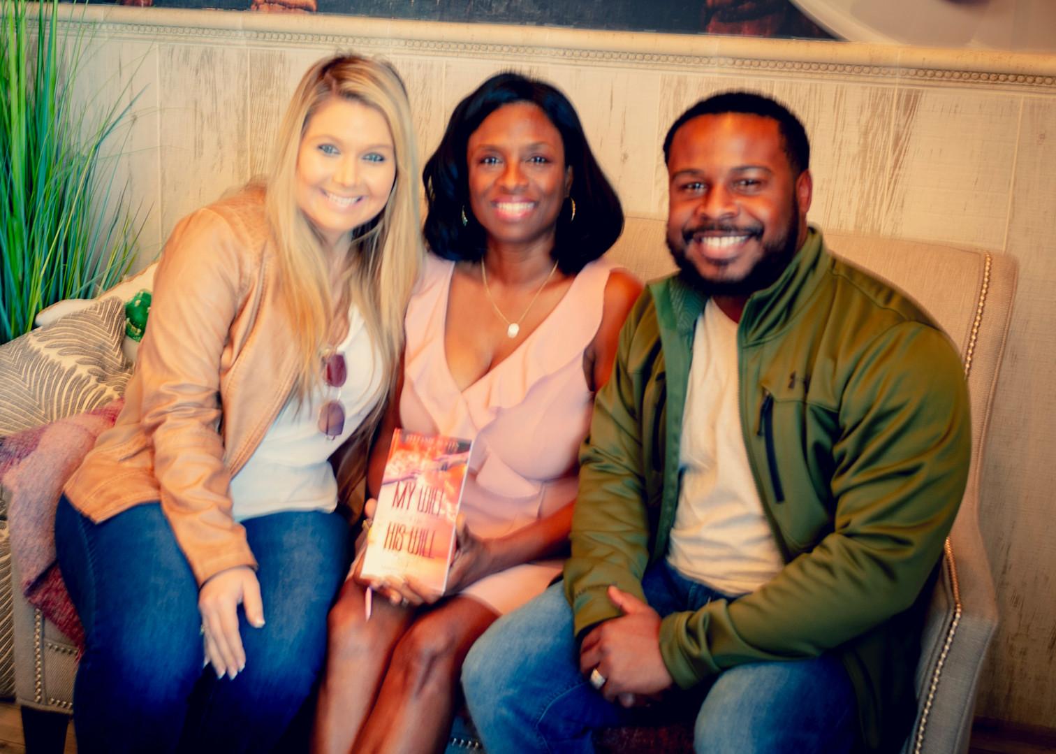 Stephanie & Mark Davis with Stefanie Austin