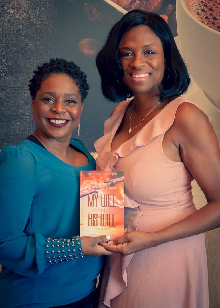 Patrice Sheppard w/ Author Stefanie Austin