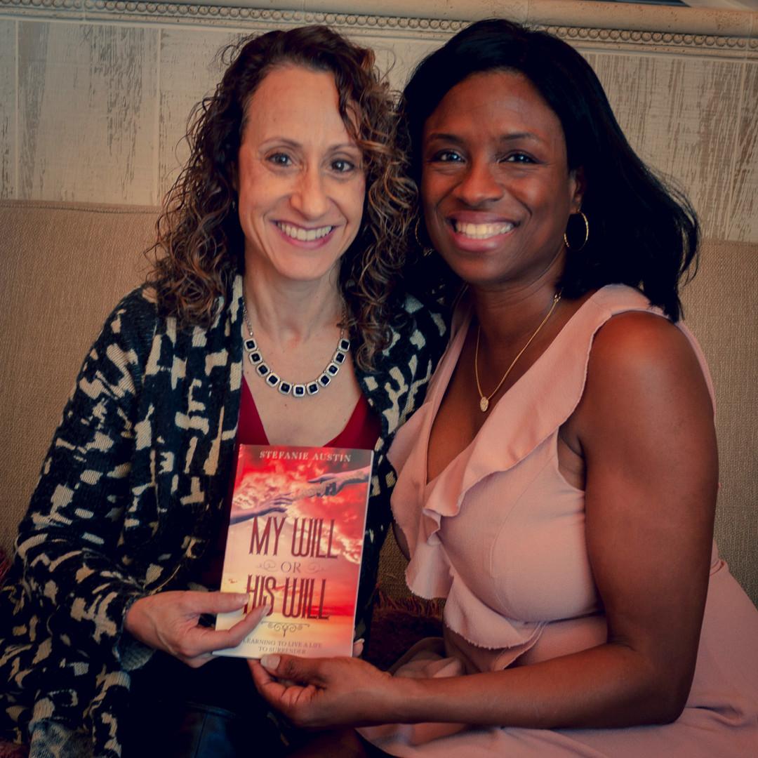 Rosalie Drayton w/ Author Stefanie Austin