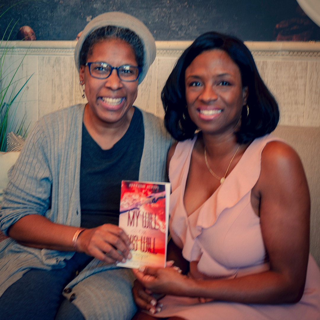 Tammi Curtis w/ Author Stefanie Austin