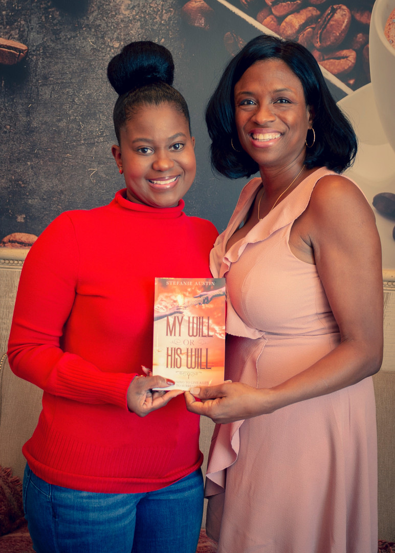 Carla Kimble w/ Author Stefanie Austin