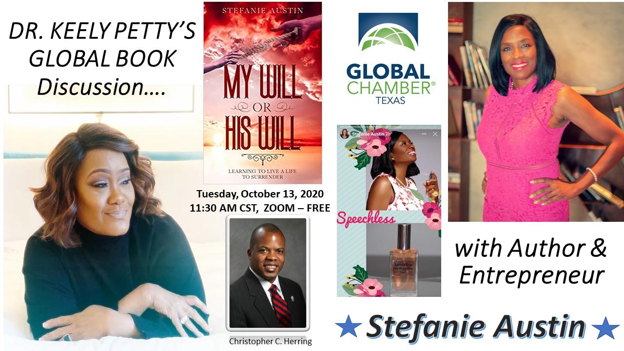 Global Chamber Texas host Author Stefanie Austin