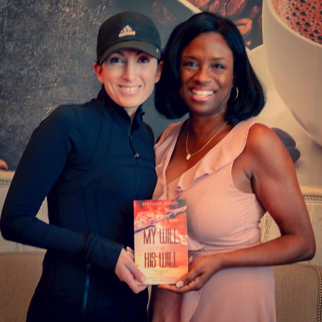 Candace Bear w/ Author Stefanie Austin
