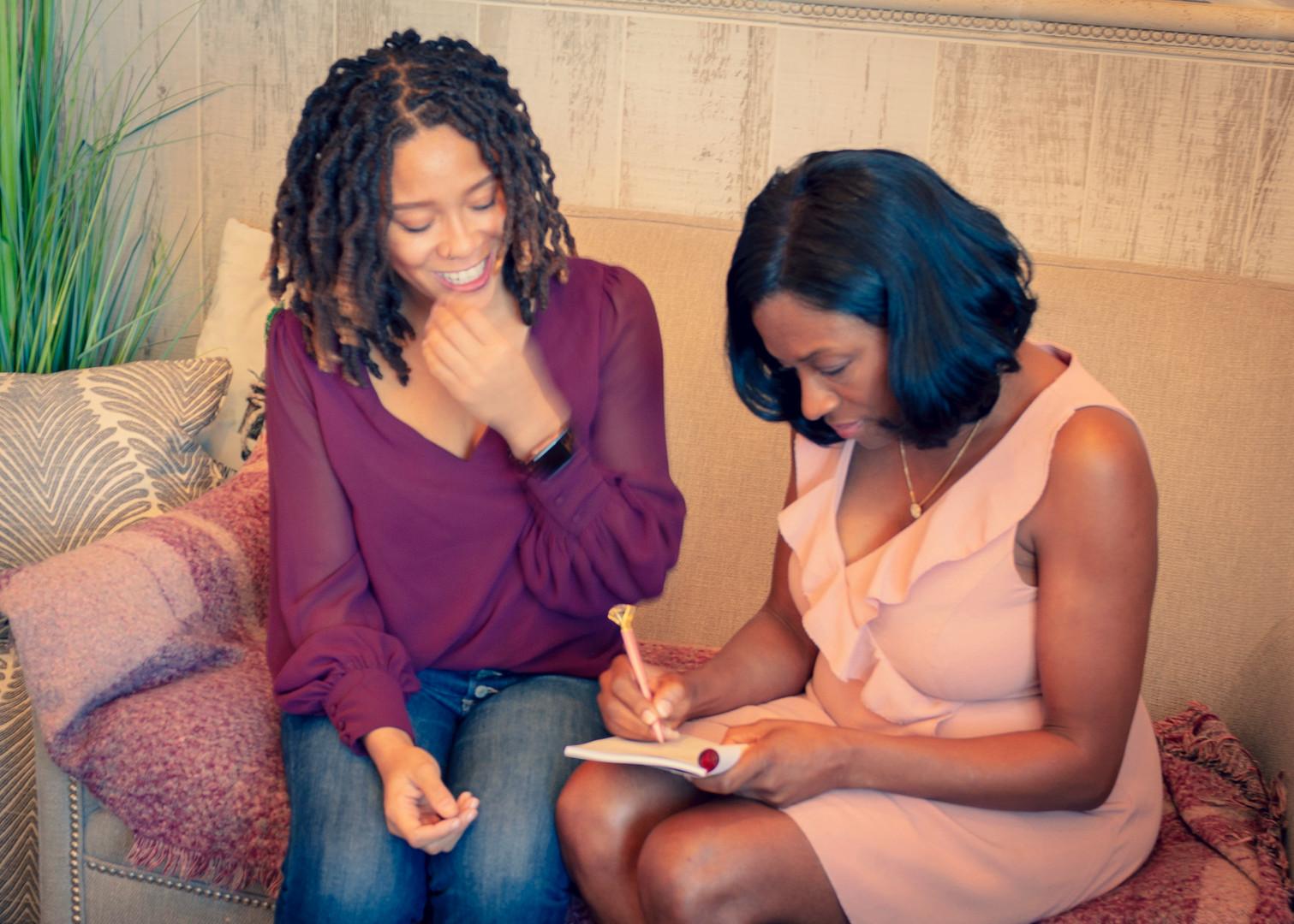 Stefanie Austin signs Brittney Jones book
