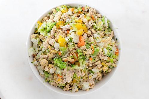 Turkey with Rice