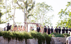 rustic ceremony