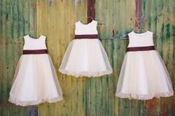 chiffon flower girl dresses
