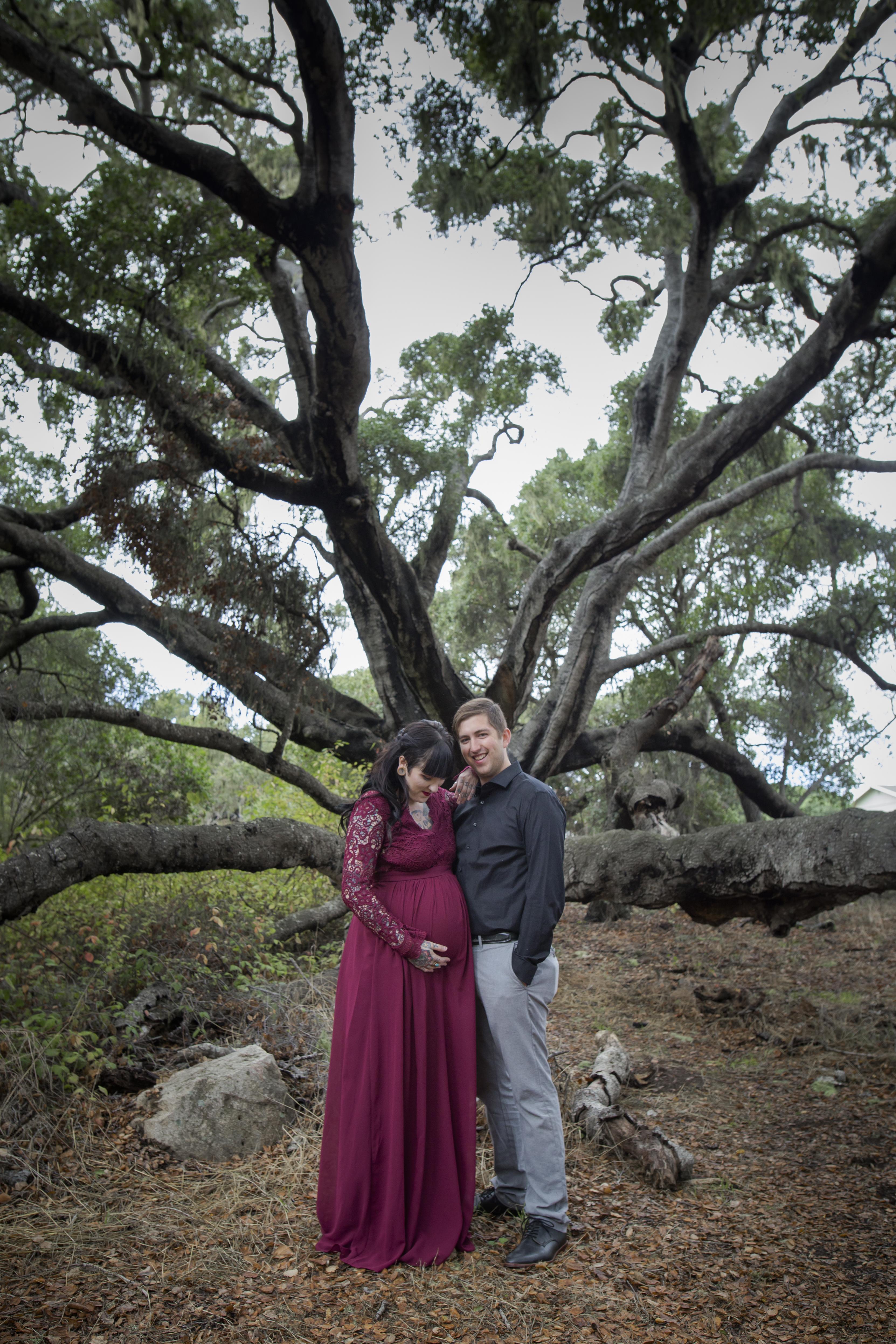 Baby Bump Los Osos Oaks Preserve
