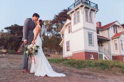 port san luis wedding portrait