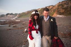 Cambria Beach Wedding