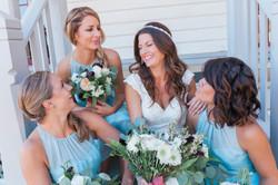 Cute bridal party portait