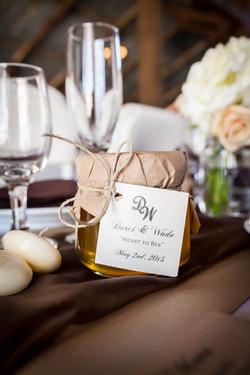 handmaid wedding favors