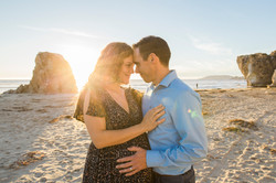 Baby Bump Beach Portrait
