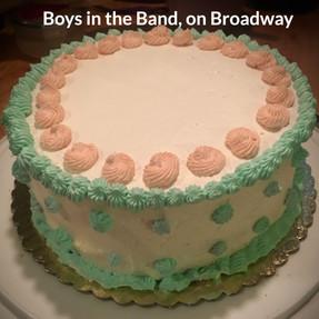 Layered Vanilla Birthday Cake