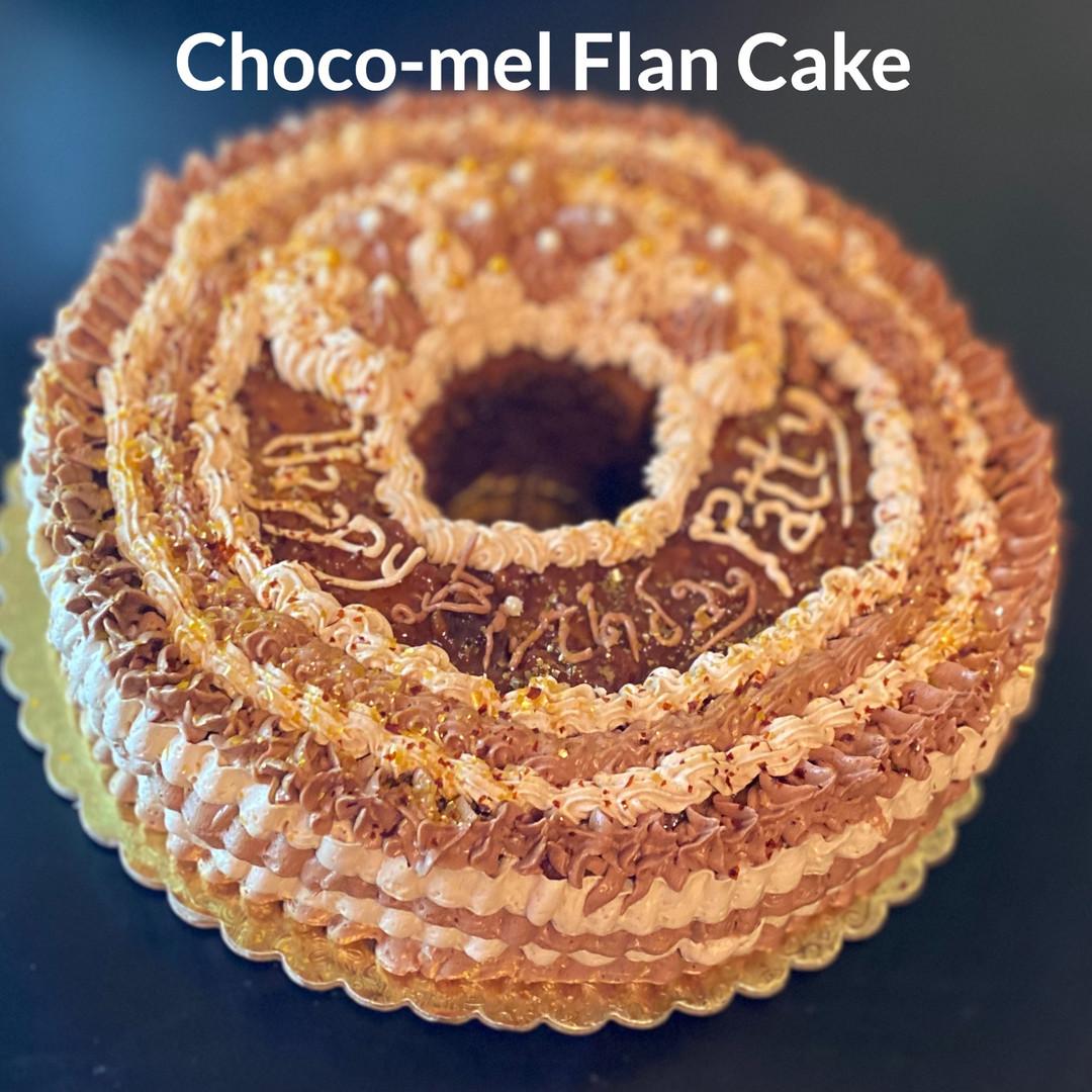 Chocolate Caramel Flan