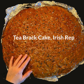 Mixed Fruit Tea Cake with a wee bit o' whiskey ;)