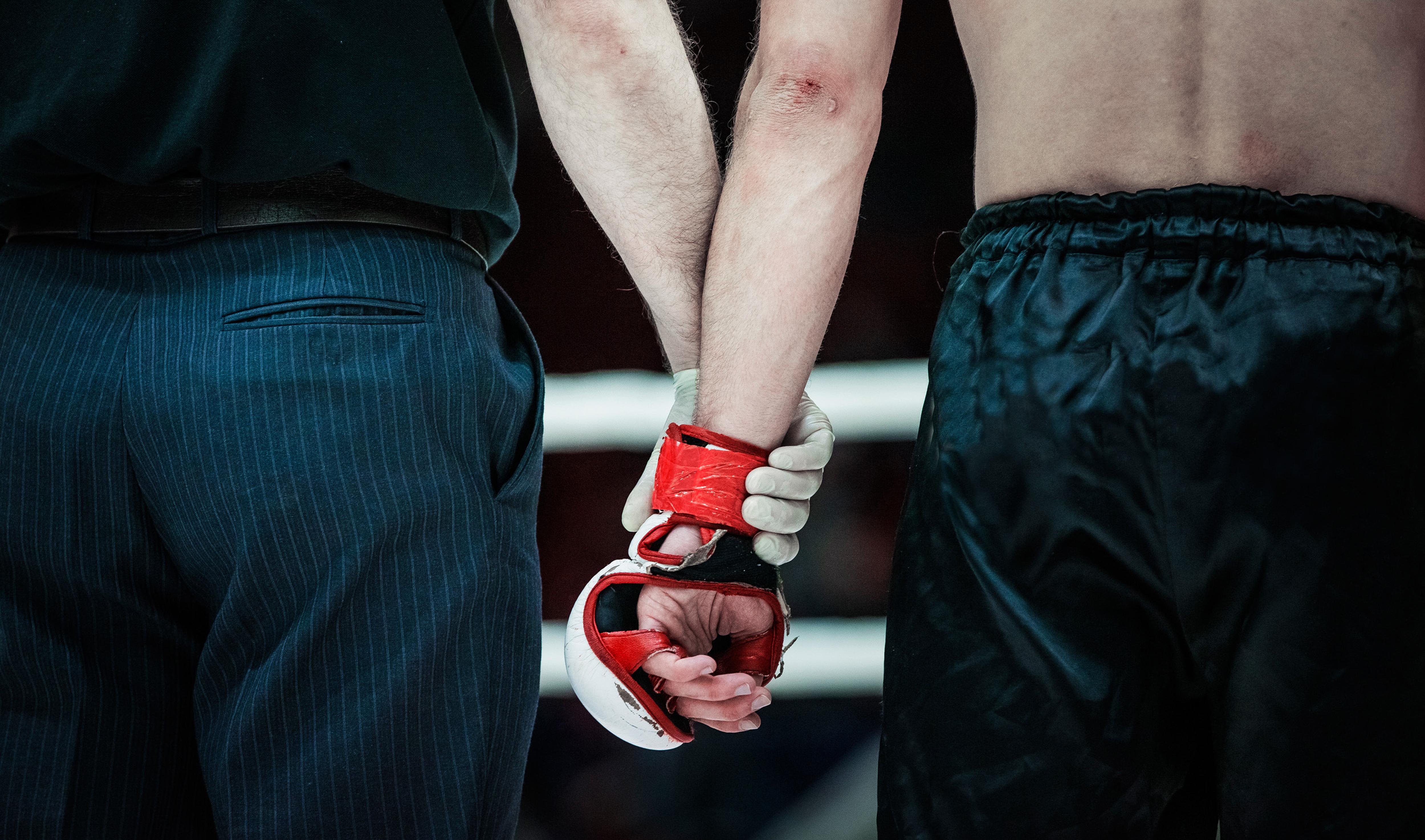 Boxing Glove Grip