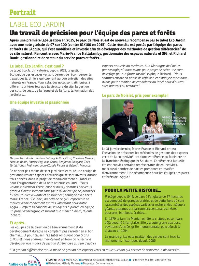 Article Label Eco Jardin Fil Infos Mars
