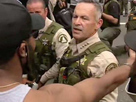 SOME DEMOCRATS UNIMPRESSED WITH SHERIFF BIANCO