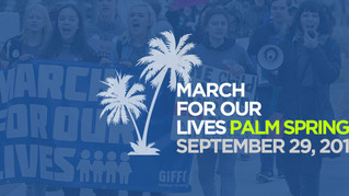 March For Our Lives - Palm Springs