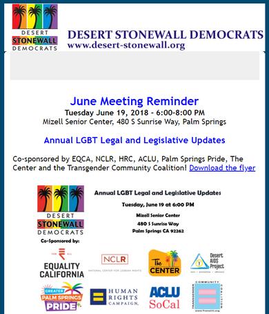 LGBT Legal and Legislative Updates