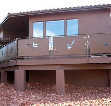 Deck Railing Sedona
