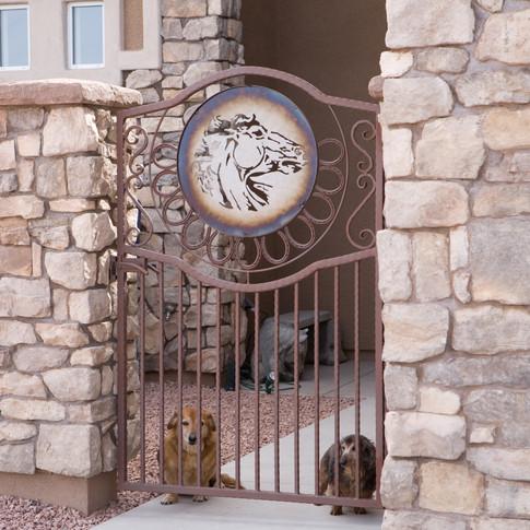Custom Gate Verde Santa Fe