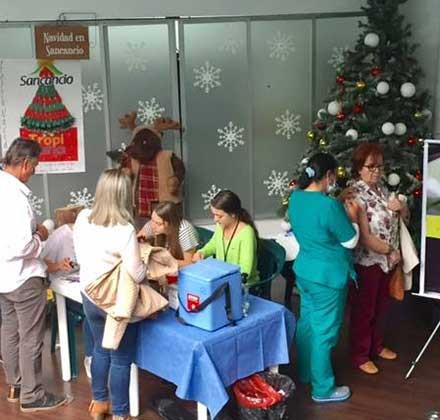 Jornada de Vacunación Diciembre Manizales 2016
