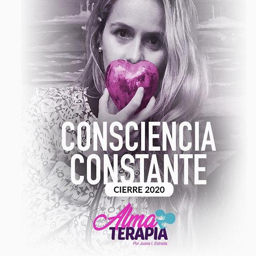 Cierre 2020- Consciencia Constante