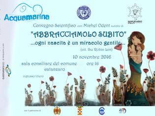 Catanzaro, 10-11 novembre - Convegno di Michel Odent