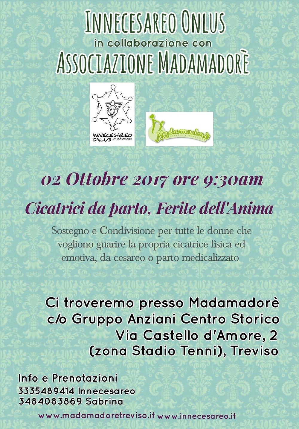 Locandina incontro: Treviso 2-10-2017