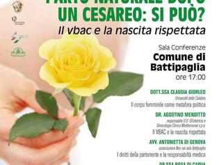 Battipaglia (SA), 8 maggio - Parto naturale dopo un cesareo, si può?