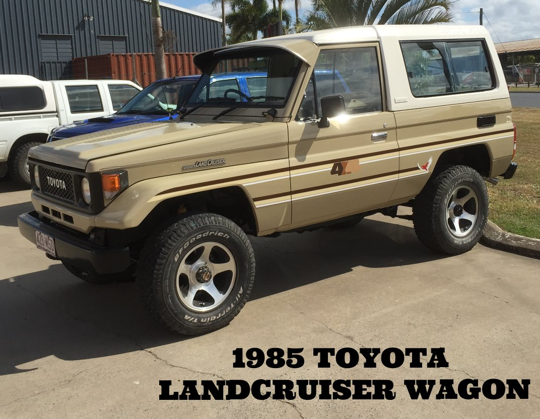 1985 Toyota Landcruiser Wagon