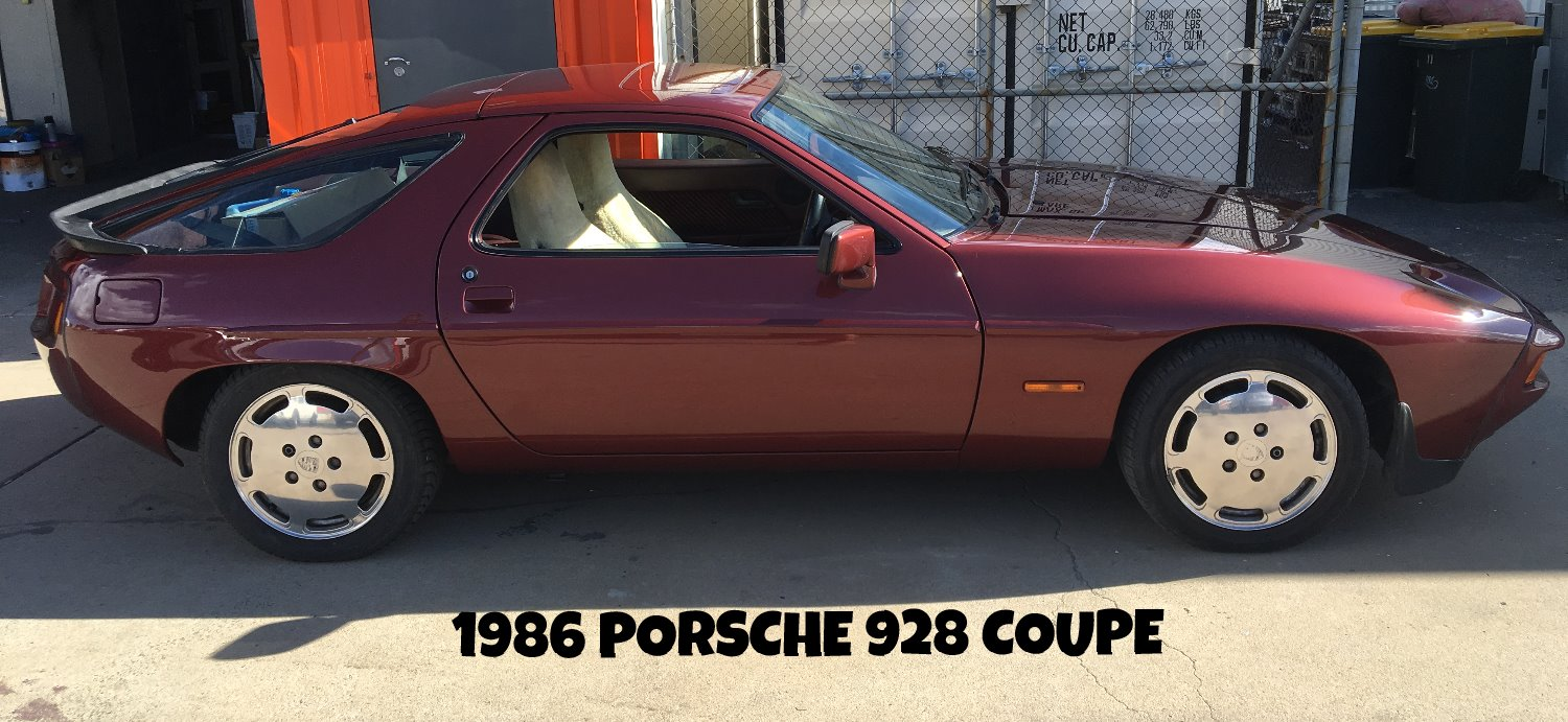 1986 Porsche 928 Coupe Respray