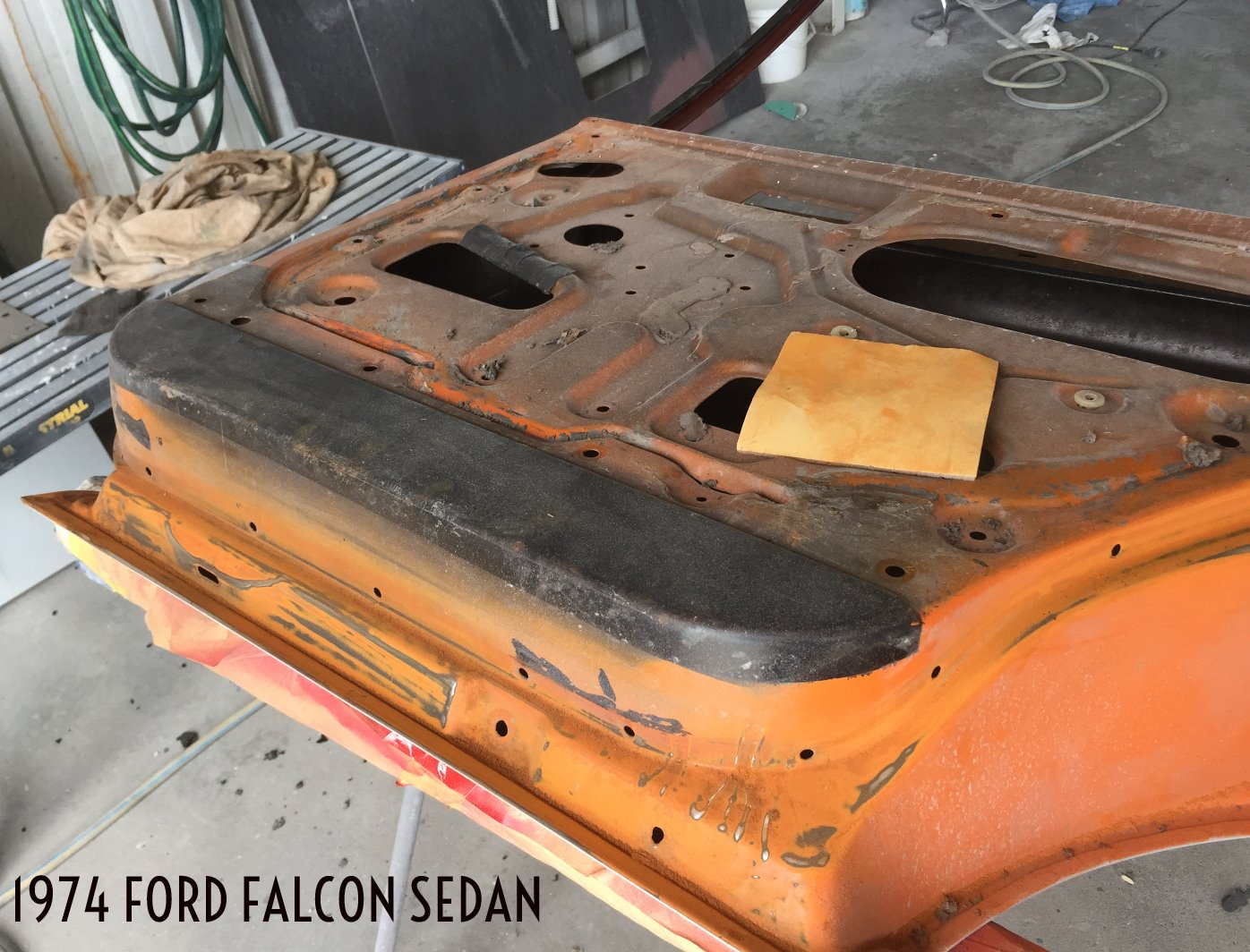 1974 Ford Falcon Sedan Respray