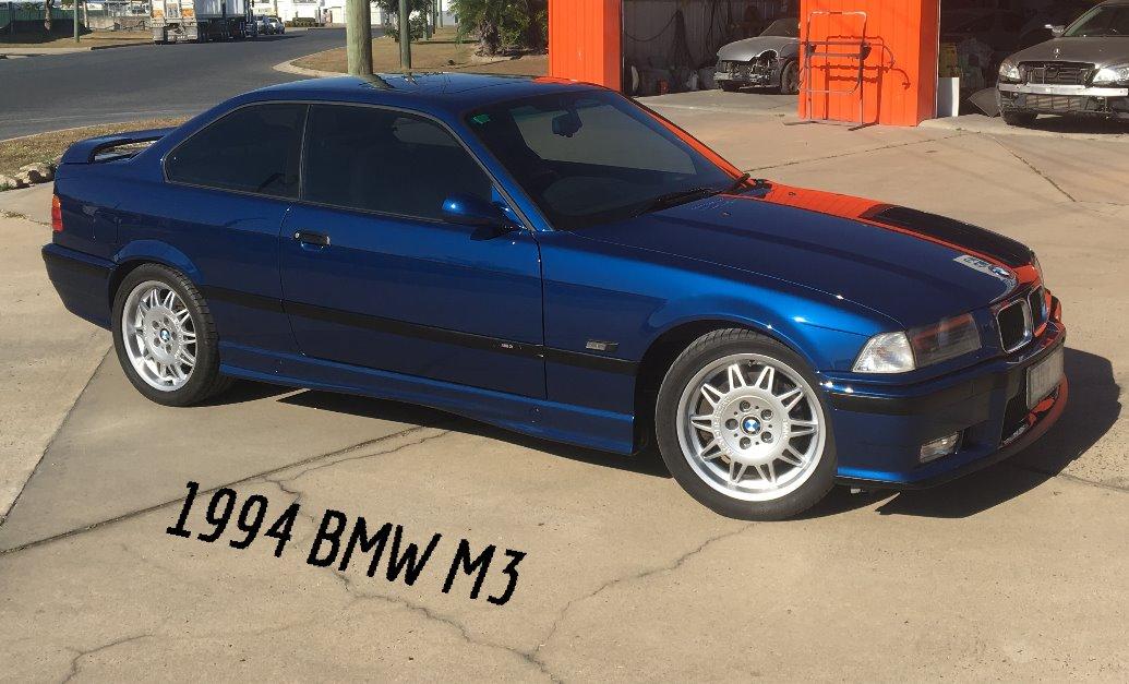 1994 BMW M3 Respray