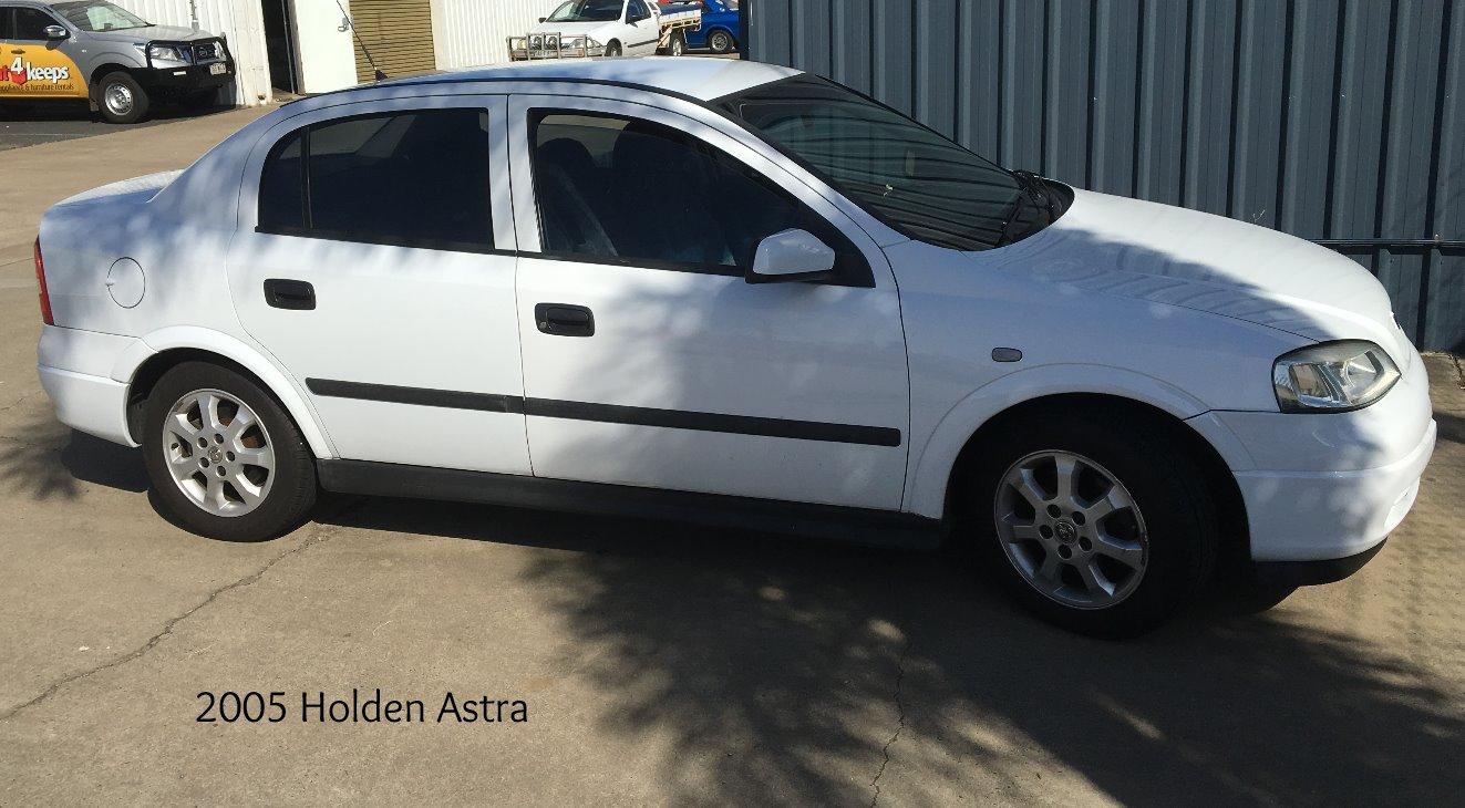 2005 Holden Astra Respray