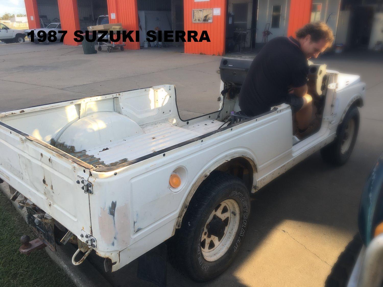 1987 Suzuki Sierra Respray