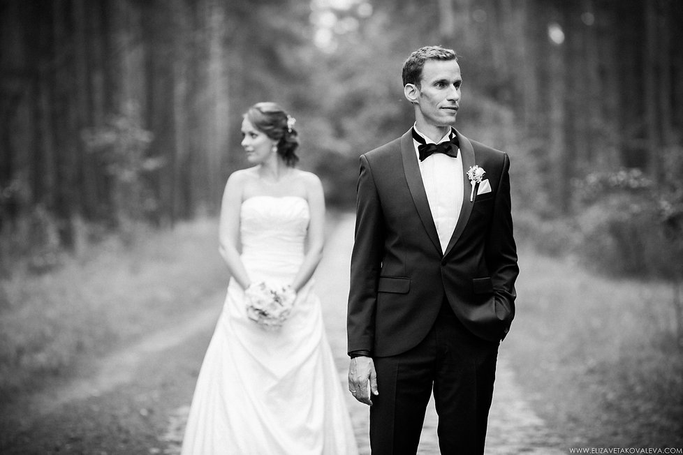 Antonia and Sebastian - Wedding Photography by Elizaveta Kovaleva.  Wedding photographer Germany