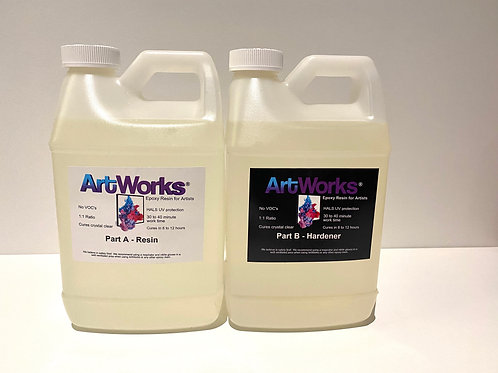 ArtWorks Resin®  1 gallon Kit