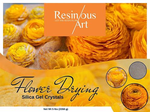 Resinous Art Flower Drying Silica Gel Crystals