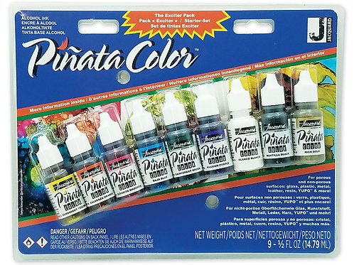Jacquard® Piñata Exciter Pack Alcohol Ink, Pack of 9