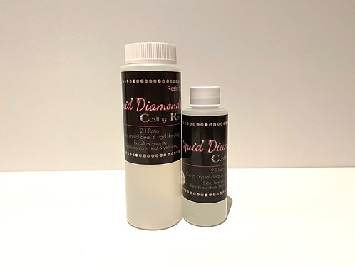 Liquid Diamonds Casting Resin 12 oz Kit