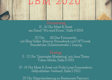 Sehen wir uns auf der Leipziger Buchmesse?