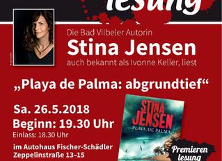 Premierenlesung zu PLAYA DE PALMA: Abgrundtief