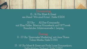 Die Leipziger Buchmesse naht!
