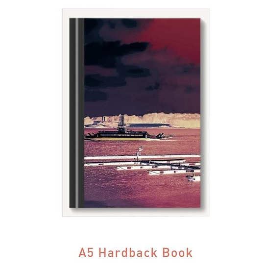 Hardback High Gloss A5 Notepad Portaferry {Inverted}
