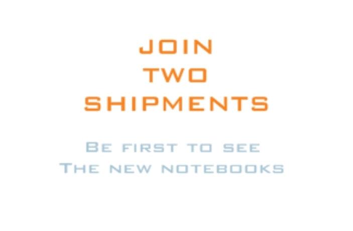 Two shipments
